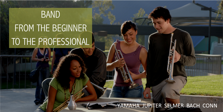 Band From the beginner to the professional