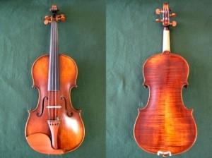 east violin
