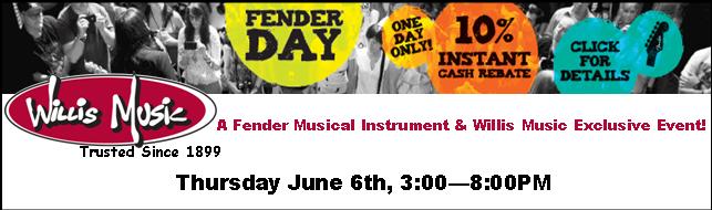 Fender Day 2013