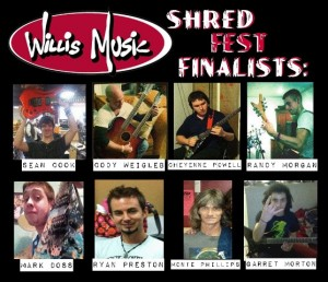 shred finalists