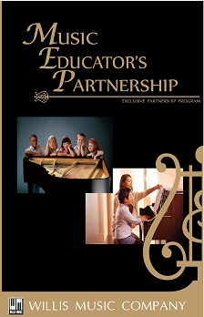 Music Educator's Partnership Brochure Cover - Willis Music Company