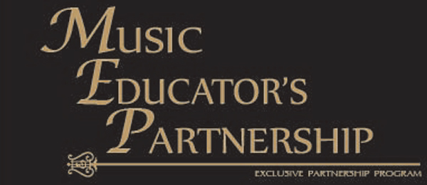 Music Educator's Partnership banner