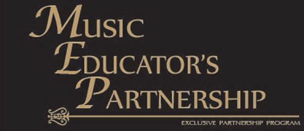 Music Educator's Partnership banner