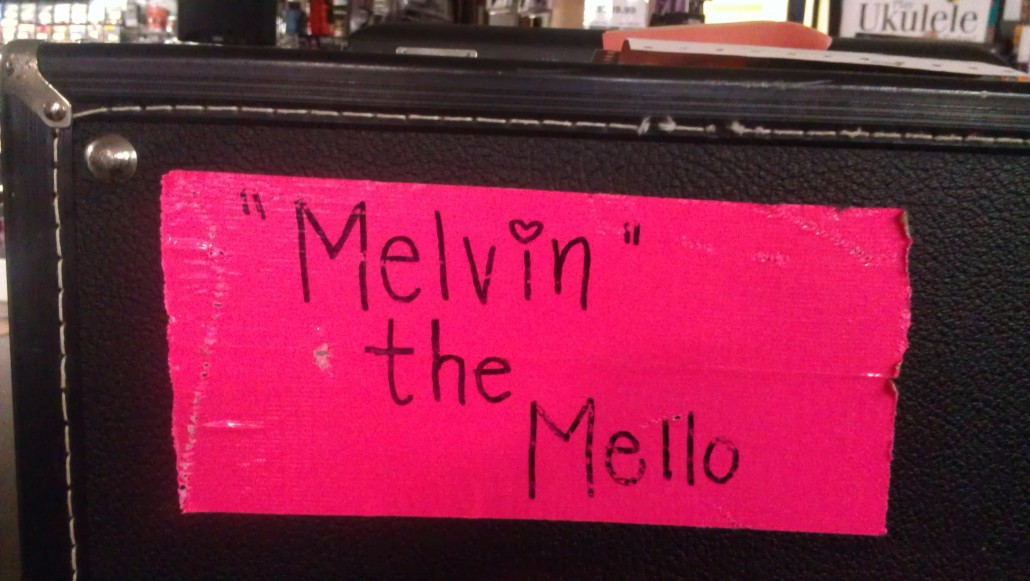 Melvin the mello phone do you name your instruments for Yamaha school of music lexington