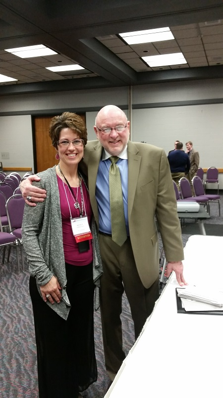 Michele VanSickle and Tim Lautzenheiser kmea 2015