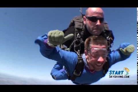 Band Director skydiving