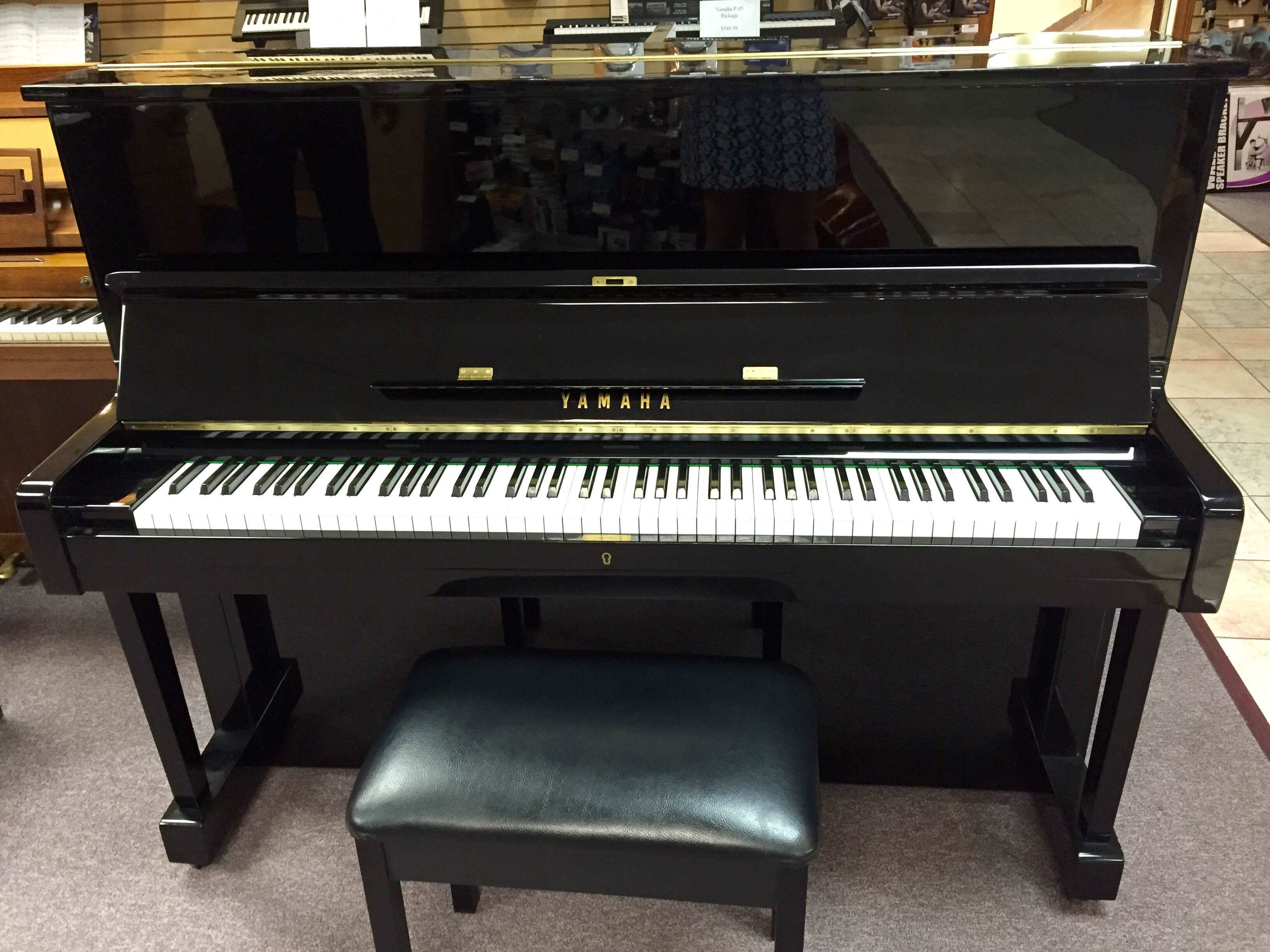 Yamaha u1 studio upright piano willis music for Used yamaha u1 price