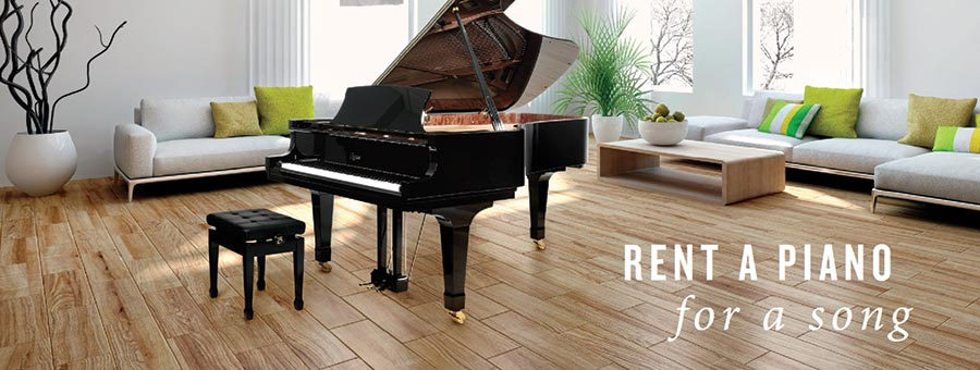 Renta a Piano for a Song Banner