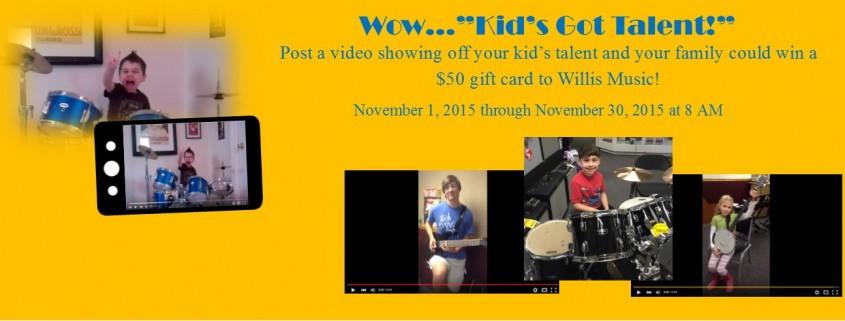 Kid's Got Talent Facebook Banner