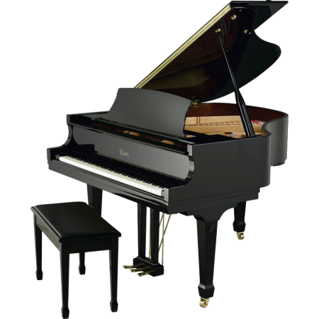 Essex EGP155EP Ebony Grand Piano