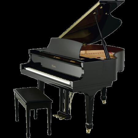Essex EGP155EP Ebony Grand Piano