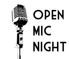 Open Mic Night Sign