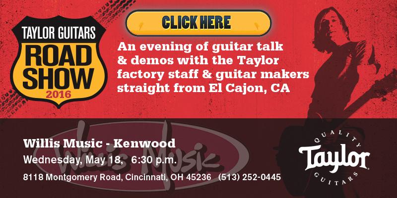 Taylor Guitar Road Show 2016