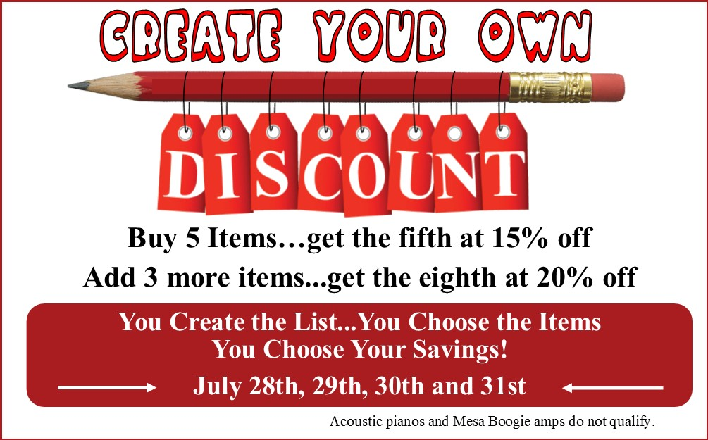 Create Your own Discount Graphic