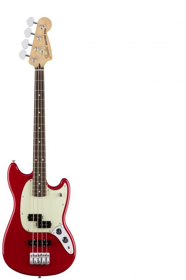 Fender Mustang Bass PJ torino Red