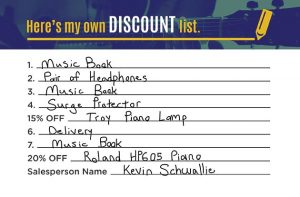 Create Your Own Discount Piano Example