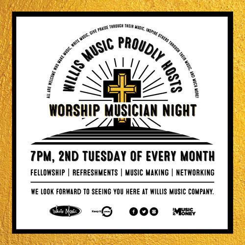 Worship Night Flyer