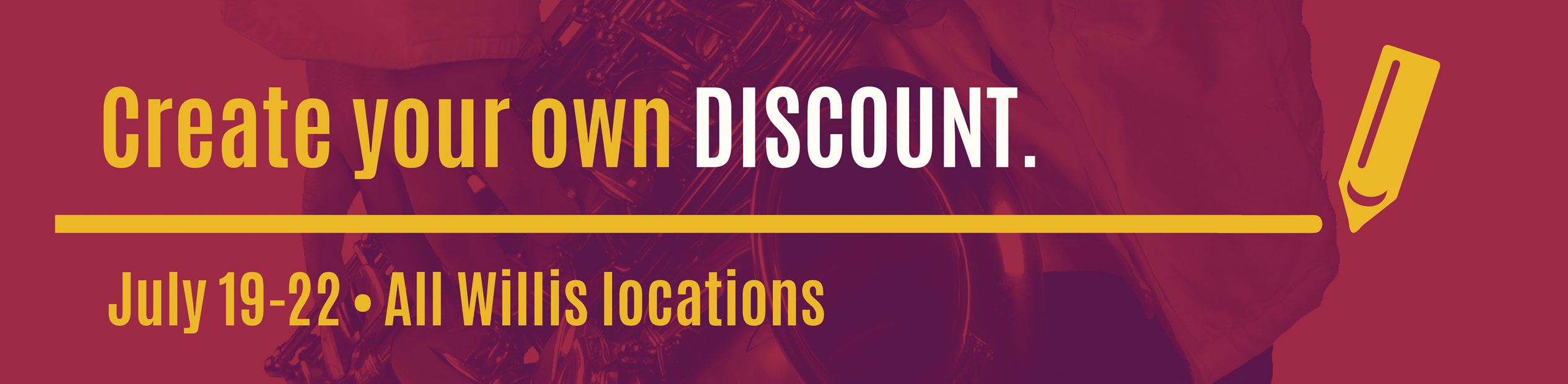 Create Your Own Discount footer