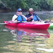 Bill and Jennifer Kayaking