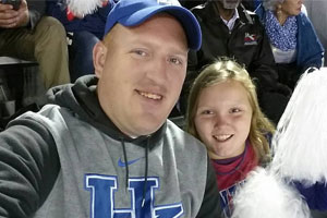Chris at the UK game