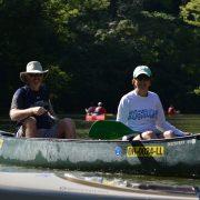 Debbie and Kevin Kayaking