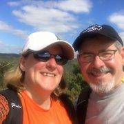 Jim and Denise Hiking