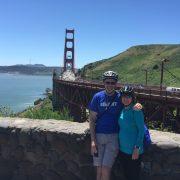 Kevin and Debbie at Golden Gate