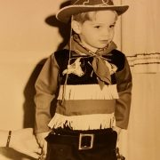 Mike as a cowboy