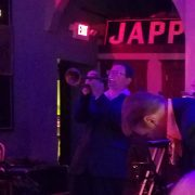 Rob playing jazz trumpet