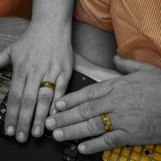 Denise and Jim wedding Rings
