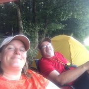 Denise and Jim Camping