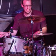 Kevin playing the drums