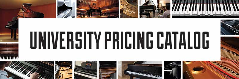 University Pricing Piano Banner