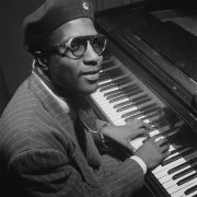 Picture of Thelonious Monk at the piano