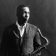 John Coltrane with Saxophone