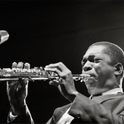 John Coltrane Playing Saxophone