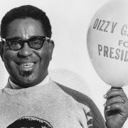 Dizzy Gillespie's running for president picture