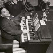 Thomas Waller playing organ