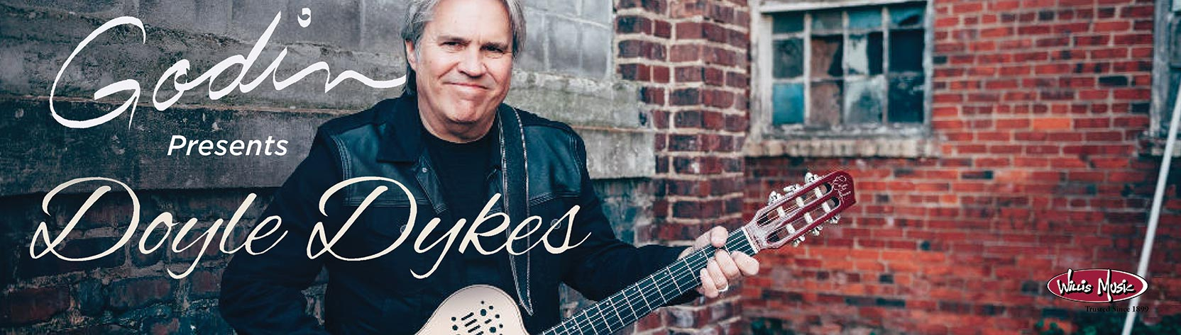 Doyle Dykes Concert Banner