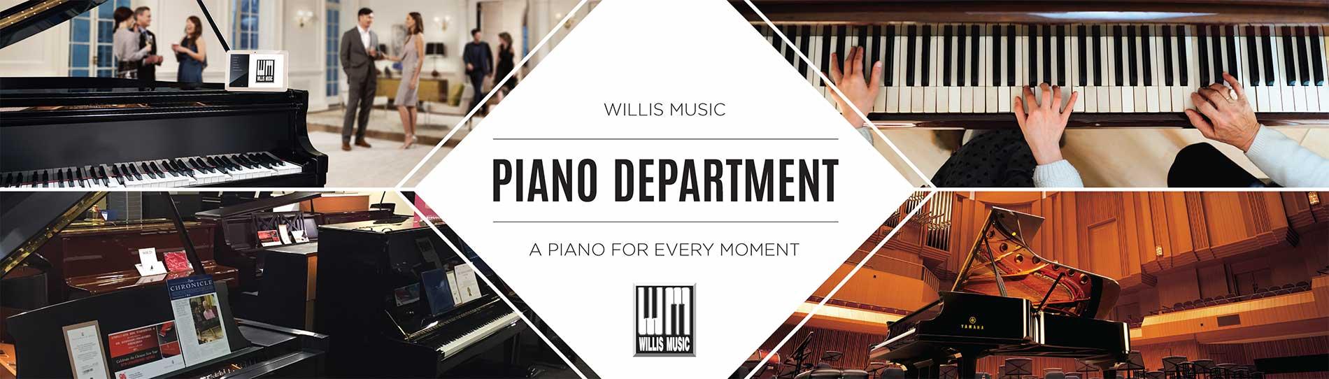 Piano Department Banner