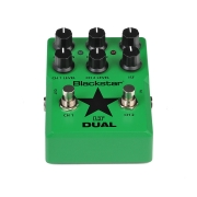 Image of green blackstar dual pedal
