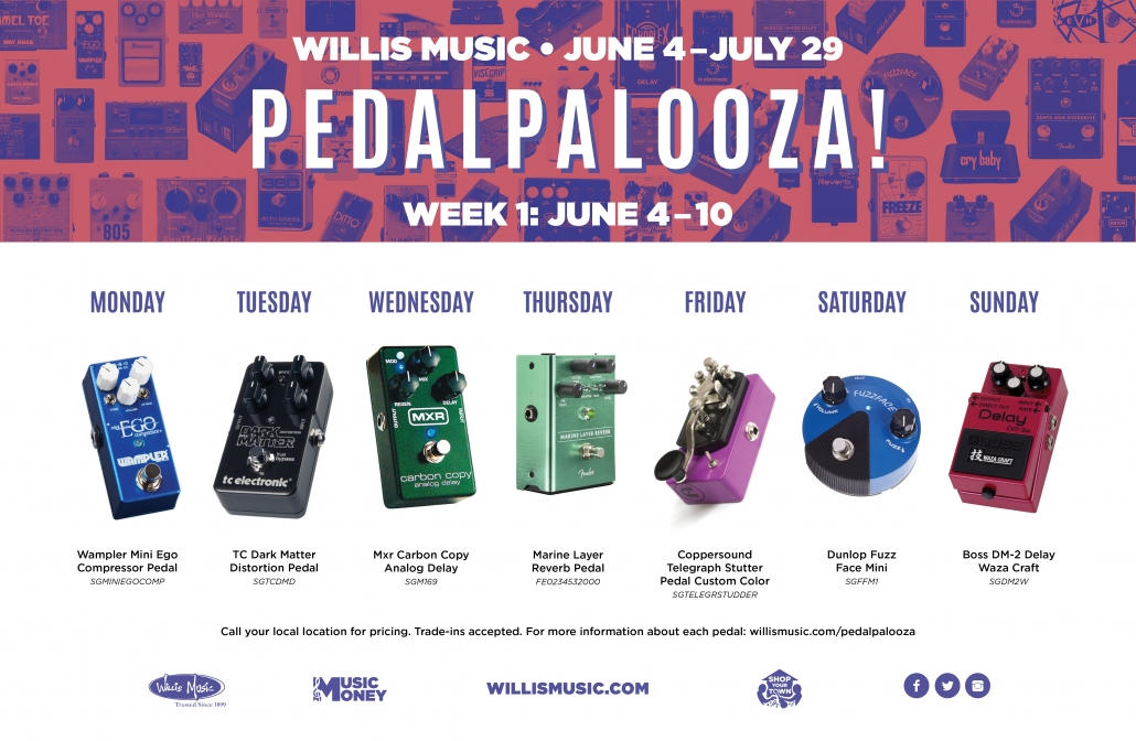 Pedalpalooza week one banner