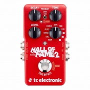 Image of red TC Electronic Hall of Fame pedal