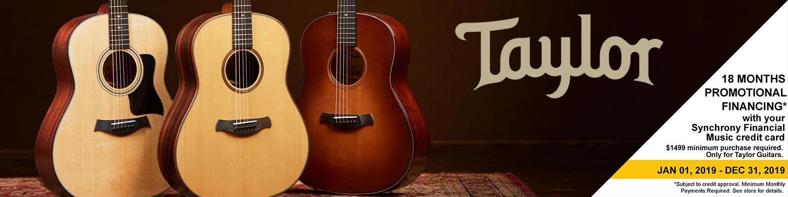 Taylor Guitar Financing