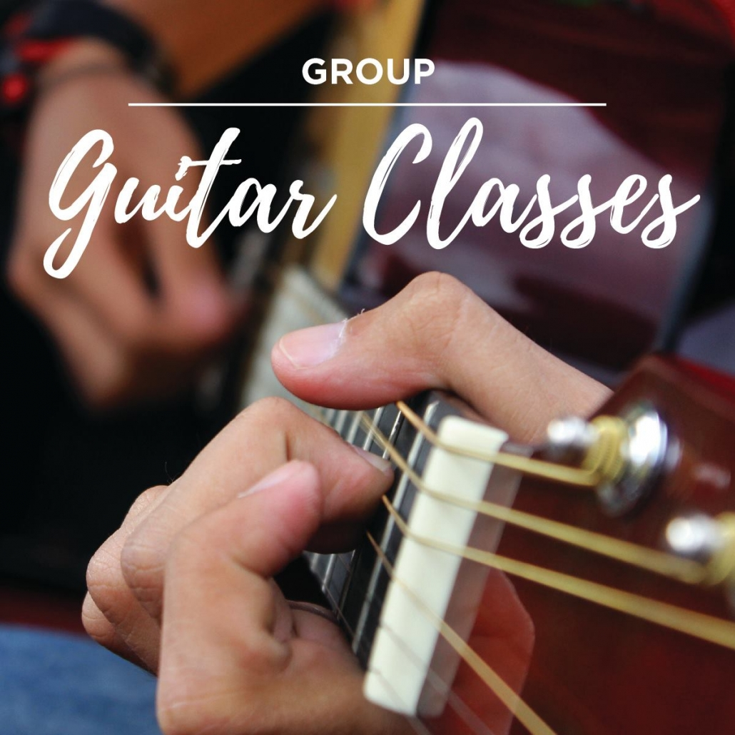 Group guitar classes with David McLean