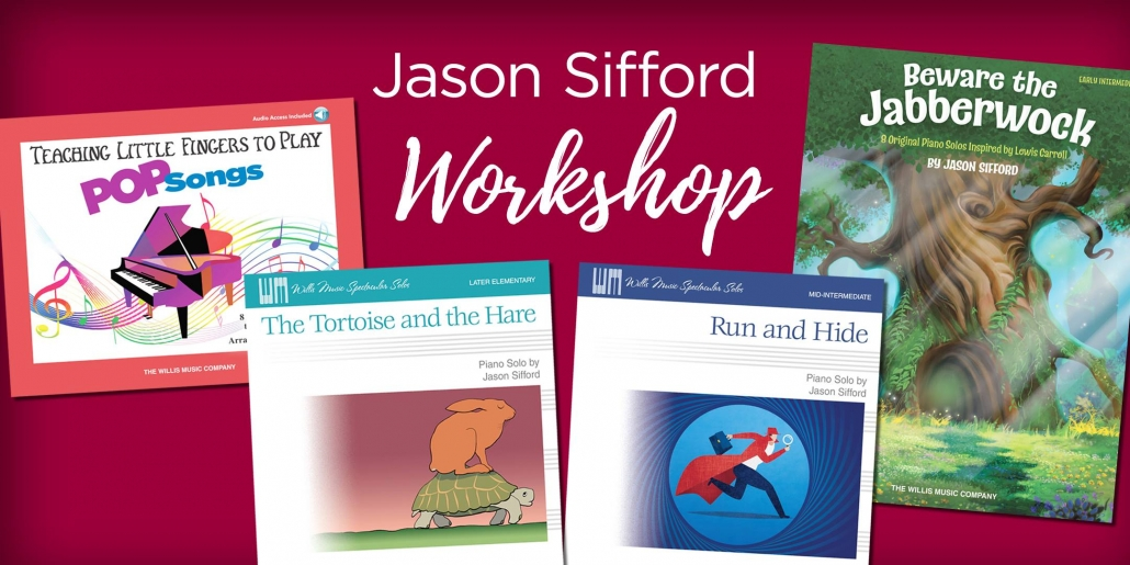 Piano Teacher Workshop Featuring Jason Sifford- Lexington
