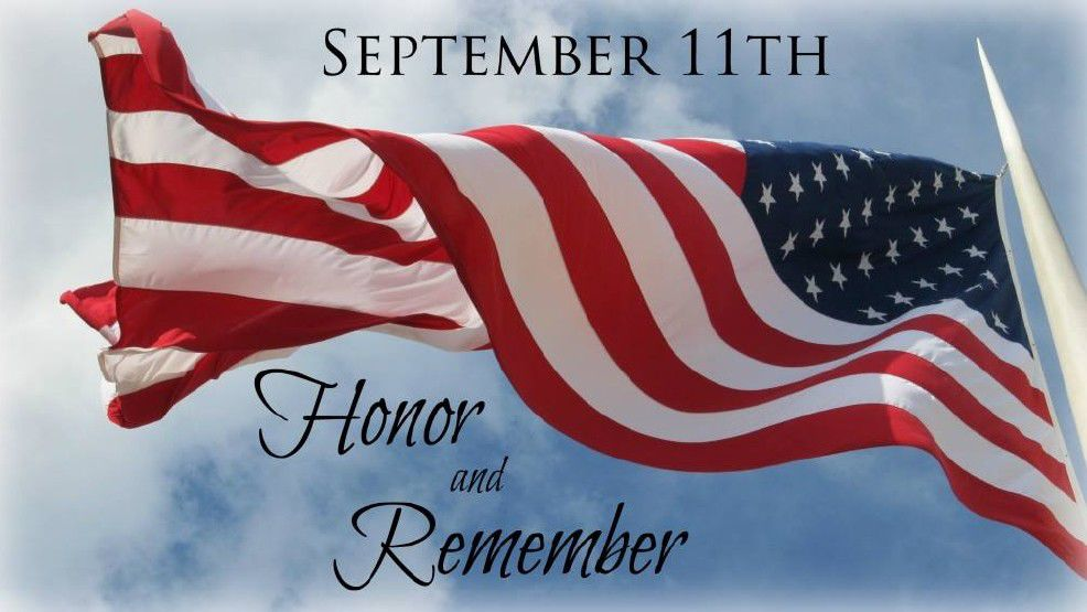 September 11th honor and remember