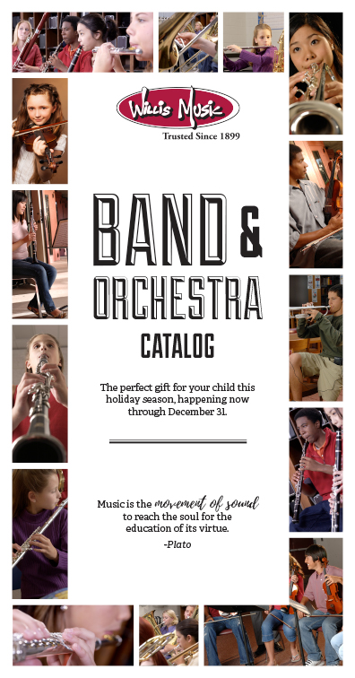 Cover of the 2019 Christmas Band Catalog