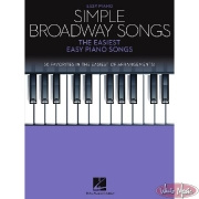 Simple Broadway Songs Sheet Music Cover
