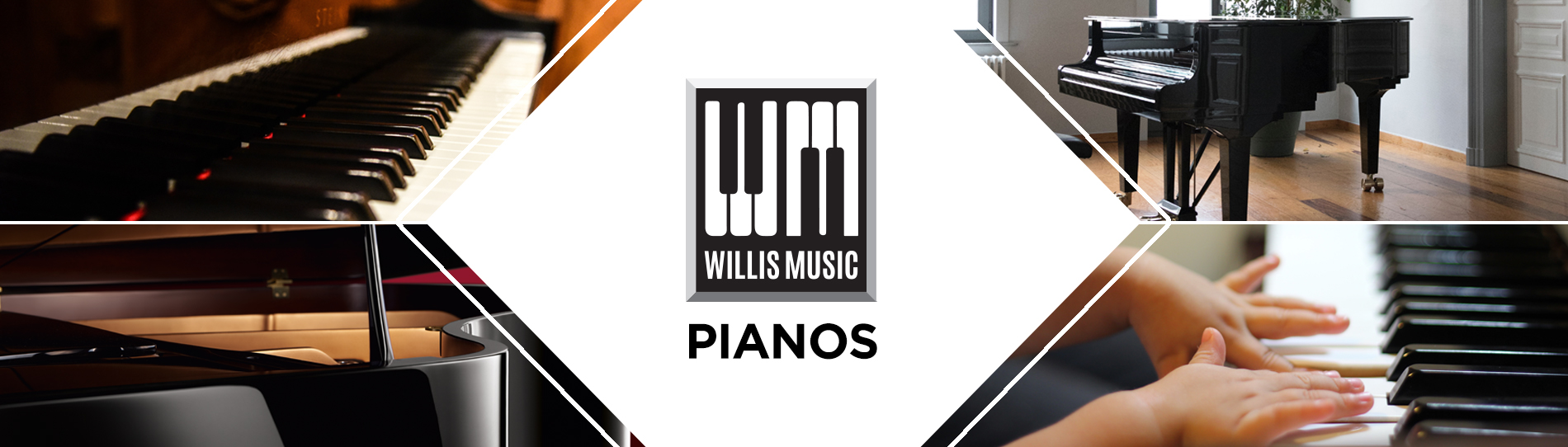 Piano Department Branding Banner